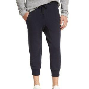 Vince. Men's Cropped Sweatpants - Blue (SM)